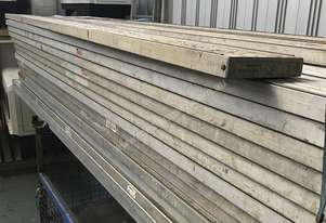 Aluminium Scaffolding Plank Ullrich Builders Planks Timber  Brickie Painters 3.6 mtrs long