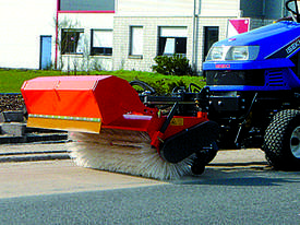 Simplex Road Sweeping Broom for SkidSteers and Front End Loaders - picture1' - Click to enlarge
