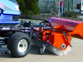 Simplex Road Sweeping Broom for SkidSteers and Front End Loaders - picture2' - Click to enlarge