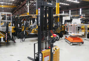 United A-Series NSP12ES Electric Walkie Stacker | 1.2T Lift Capacity | Clearance