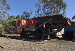 Finlay J-1170 mobile remote controlled jaw crusher