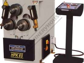 HPK-65 Section & Pipe Rolling Machine 60 x 60 x 6mm Angle Capacity Includes Digital Readout Display - picture0' - Click to enlarge