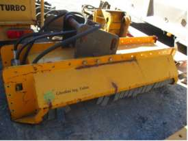 Excavator operated Tree Mulcher - picture0' - Click to enlarge