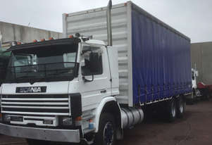 Scania P113H/M Curtainsider Truck
