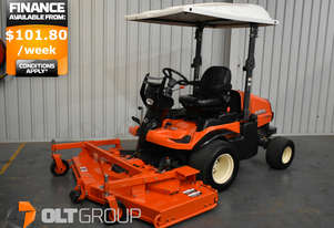 Kubota F3690 Out Front Mower 36hp Diesel Rear Discharge 72 Inch Deck