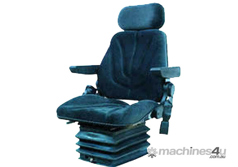 Seat with headrest and arm rests with 12V Pneumatic Suspension Vinyl