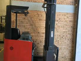 2013 Roll Out Nichiyu Reach Truck 1.4ton 6.3m side Shift 1000hr Great Battery ! - picture0' - Click to enlarge