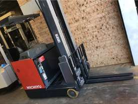 2013 Roll Out Nichiyu Reach Truck 1.4ton 6.3m side Shift 1000hr Great Battery ! - picture1' - Click to enlarge