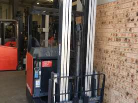 2013 Roll Out Nichiyu Reach Truck 1.4ton 6.3m side Shift 1000hr Great Battery ! - picture2' - Click to enlarge