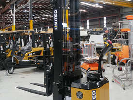 United T Series 1.8T Walkie Reach Stacker NSX15EA - EOFY Sale! - picture0' - Click to enlarge