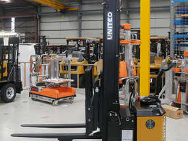 United T Series 1.8T Walkie Reach Stacker NSX15EA - EOFY Sale! - picture2' - Click to enlarge