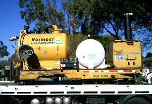 E-550 Vermeer vac unit , 35hp deutz powered  water tank and vac tank