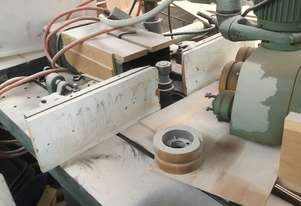 BARKER SPINDLE MOULDER - COMES WITH POWER FEED UNIT