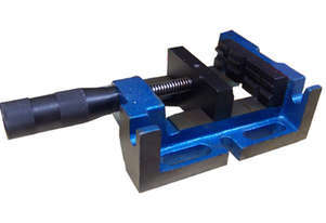 FLAT MILL DRILL VICE 142MM  MOUNT SLOTS