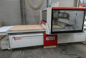 SCM CNC and dust extraction