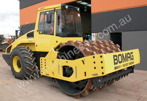 BOMAG BW219PDH-4 VIBRATING PAD FOOT ROLLER