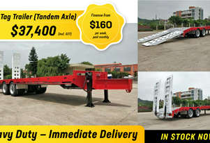 2019 Freightmore TAG Trailer IN TANDEM AXLE Finance from $155 P/W Paid Monthly