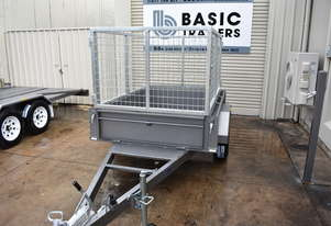 6x4 Single Axle Caged Trailer (Australian Made)