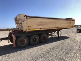 2010 ROAD WEST TRANSPORT EQUIPMENT RWT TRI350 SIDE TIPPER TRAILER - picture2' - Click to enlarge