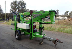Nifty Lift 120T Boom Lift Access & Height Safety