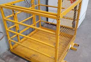 East West Engineering Safety Cage for Forklift