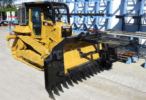 Caterpillar D6N XL Bulldozer Stick Rake Fitted SU Blade DOZCATM