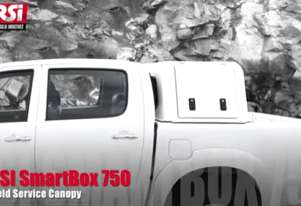 Ute Canopy Toolbox 750mm deep with rear view window