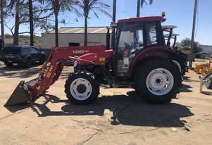 2017 Stock Clearance YTO X704 Cab Tractor With FEL + 4in1 Bucket