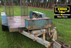 1993 Dean Tandem Axle Plant Trailer with ramps - TS551