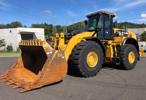 2017 Caterpillar 980M Wheel Loader