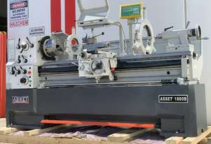 ASSET Industrial New EURO Lathe 1500mm Bed, 410mm Swing, 80mm Bore