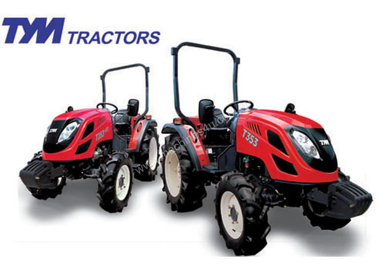 TYM T353 Tractor HST ROPS with FEL and 4in1 Bucket