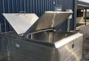 1,600ltr Jacketed Stainless Steel Tank, Milk Vat