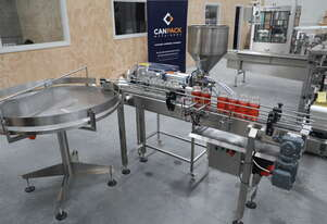 Semi-Automatic Bottle Filling Line
