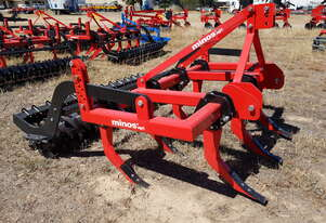 2020 MINOS-AGRI CZ-7-M CHISEL PLOUGH + PACKER ROLLER (7 TINE, 2.1M)
