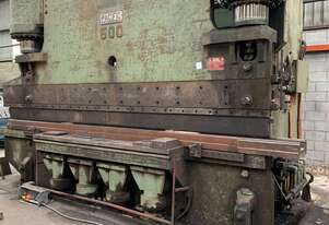 PRESS BRAKE 600 TON X 5.5 METERS
