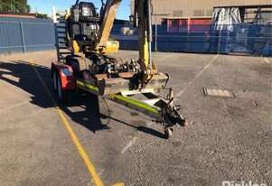 2015 Auswide Equipment Plant Trailer