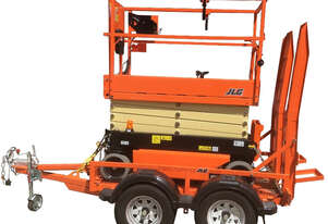 12/2017 JLG 1932R Scissor Lift & TSL 2000 Scissor Trailer (Hire or Purchase)