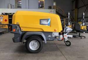 Atlas Copco XAS 38 - Trailer Mounted Diesel Compressor