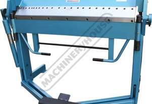 PB-416D Manual Panbrake 1260 x 1.5mm Mild Steel Bending Capacity Removable Individual Bending Finger