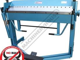 PB-416D Manual Panbrake 1260 x 1.5mm Mild Steel Bending Capacity - picture0' - Click to enlarge
