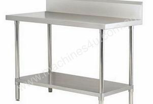 Simply Stainless SS02.0300 Work Bench With Splashb