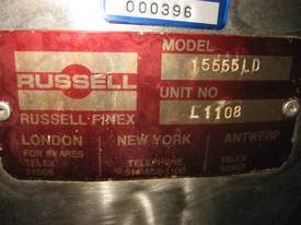 Russell Finex Vibrating screen - picture1' - Click to enlarge