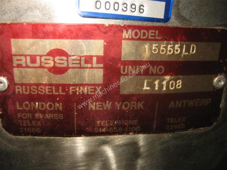 Russell Finex Vibrating screen