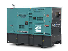 Cummins 110KVA Diesel Generator 415V - 2 Years Warranty - picture2' - Click to enlarge