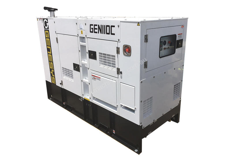 Cummins 110KVA Diesel Generator 415V - 2 Years Warranty