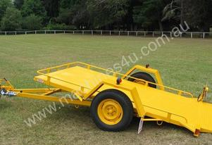 19OSM Narrow Tilt Bed Plant Trailer Mech Brakes