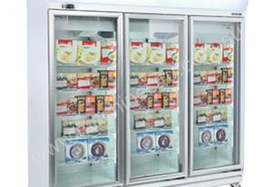 Bromic UF1500LF - Flat Glass Door LED Display Freezer - 1507L