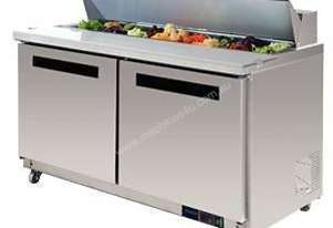 Polar GD883-A - Megatop Preparation/Salad Counter 527Ltr