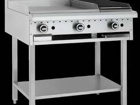 Luus Model BCH-6P3C - 600 Grill, 300 BBQ Char and Shelf  - picture0' - Click to enlarge